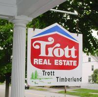 Trott Real Estate Sign